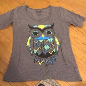 Juniors Owl T-Shirt